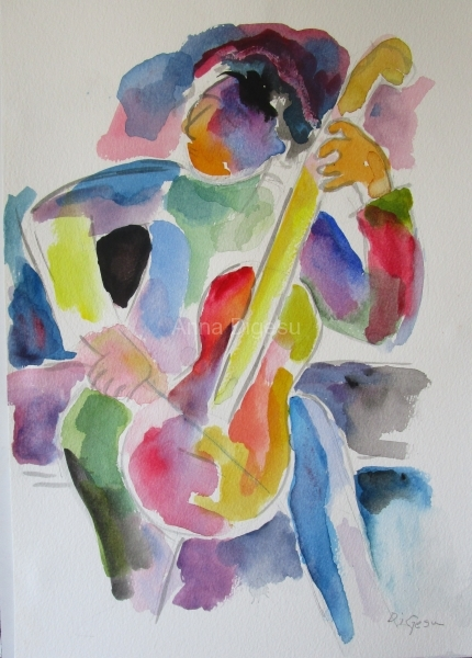 Cellist  SOLD