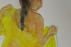 Series Yellow semi transparant robe No. 14