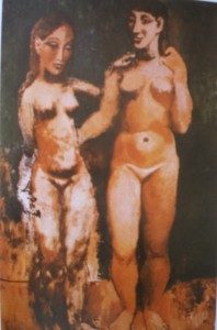 Picasso Two Nude girls