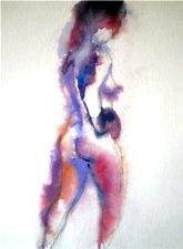 wet watercolor